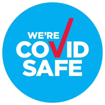 We're a COVID safe business registered with the NSW Government