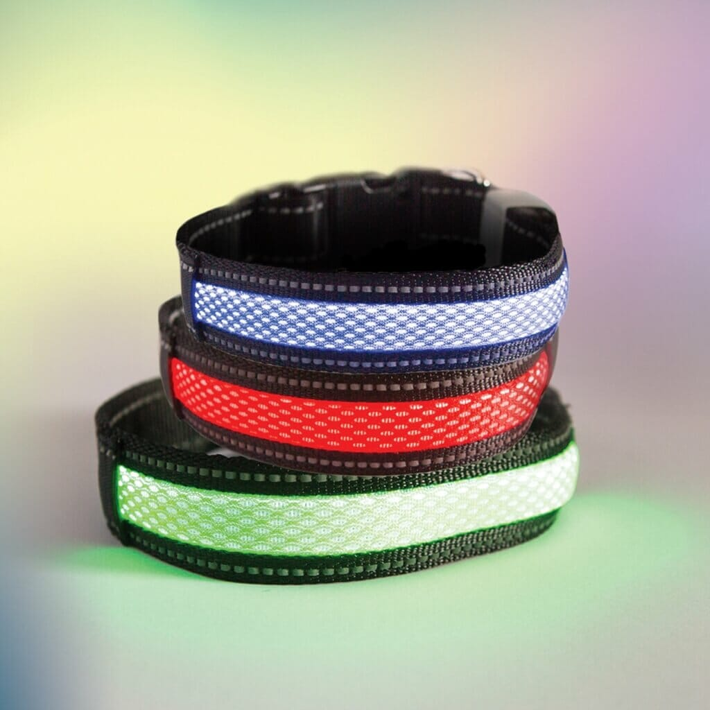 LED USB Chargeable Collars