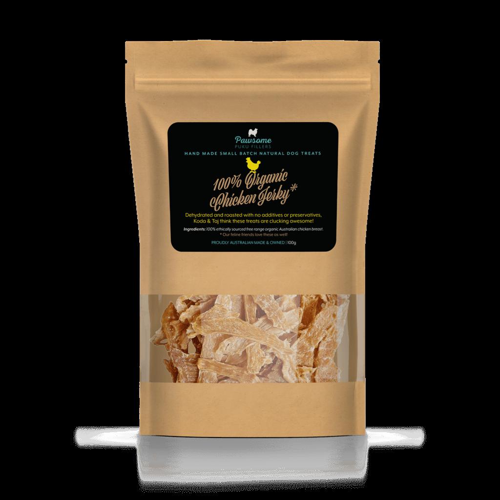 100% Organic Chicken Jerky